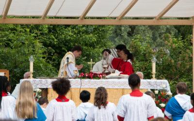 Célébrations de la Fête-Dieu sans processions