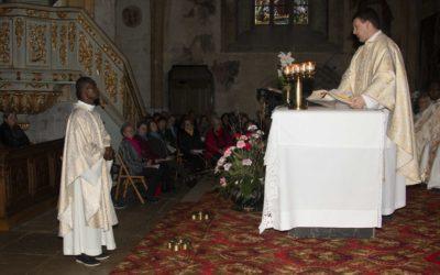 Messe d'installation de l'abbé Bernard
