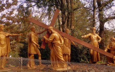 Changement de lieu pour le chemin de Croix